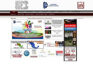Instituto Tecnológico de Ciudad Victoria's Website Screenshot