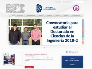 Instituto Tecnológico de Culiacán's Website Screenshot
