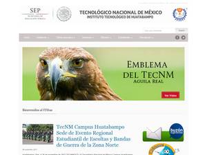 Instituto Tecnológico de Huatabampo's Website Screenshot