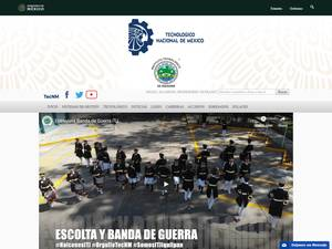 Instituto Tecnológico de Jiquilpan's Website Screenshot