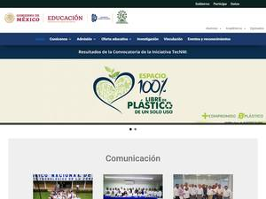 Instituto Tecnológico de La Zona Olmeca's Website Screenshot