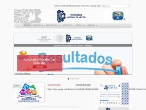Instituto Tecnológico de Lázaro Cárdenas Screenshot