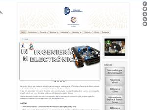 Instituto Tecnológico de Lerma's Website Screenshot