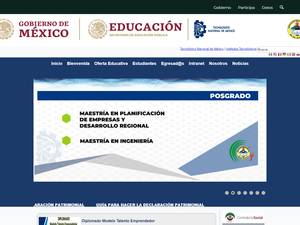 Instituto Tecnológico de Los Mochis's Website Screenshot