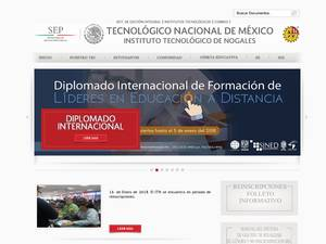 Instituto Tecnológico de Nogales's Website Screenshot