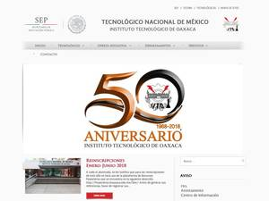Instituto Tecnológico de Oaxaca Screenshot