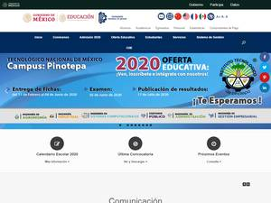 Instituto Tecnológico de Pinotepa's Website Screenshot