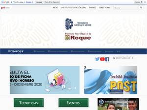 Instituto Tecnológico de Roque Screenshot