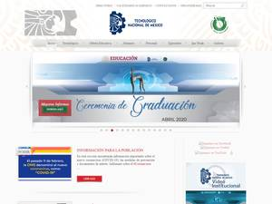 Instituto Tecnológico de Tijuana's Website Screenshot
