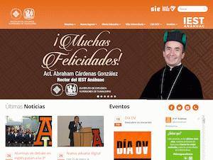 Instituto de Estudios Superiores de Tamaulipas A.C.'s Website Screenshot