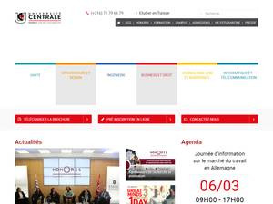 Université Centrale Screenshot
