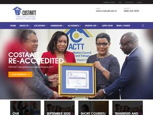 College of Science, Technology and Applied Arts of Trinidad and Tobago Screenshot