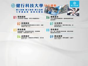 Chien Hsin University of Science and Technology's Website Screenshot