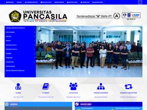 Universitas Pancasila Screenshot