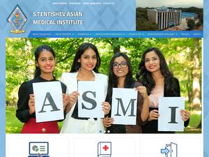 Asian Medical Institute's Website Screenshot