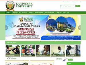 Landmark University Screenshot