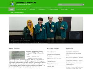 Al Muslim University Screenshot