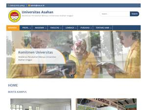 Universitas Asahan Screenshot