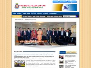 Universitas Darma Agung Screenshot