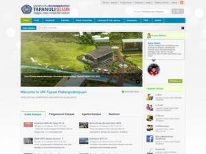 Universitas Muhammadiyah Tapanuli Selatan Screenshot