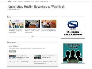 Nusantara Al-wasliyah Muslim University Screenshot