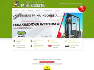 Universitas Prima Indonesia Screenshot