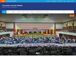 Serambi Mekkah University Screenshot