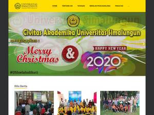 Universitas Simalungun's Website Screenshot