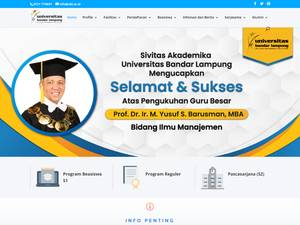 Universitas Bandar Lampung Screenshot