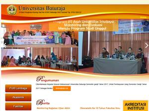 Universitas Baturaja Screenshot