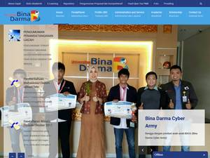 Universitas Bina Darma Screenshot