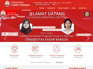 Kader Bangsa University Screenshot
