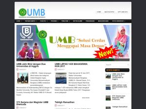 Muhammadiyah University of Bengkulu Screenshot