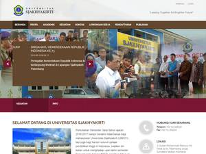 Universitas Sjakhyakirti Screenshot