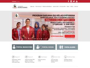 Universitas Bung Karno Screenshot