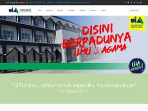 Universitas Islam As-Syafi'iyah Screenshot