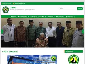 Universitas Islam Attahiriyah Screenshot