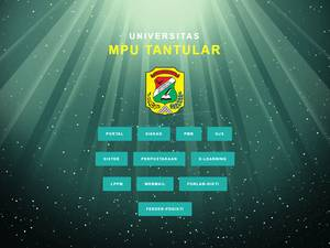 Universitas Mpu Tantular's Website Screenshot