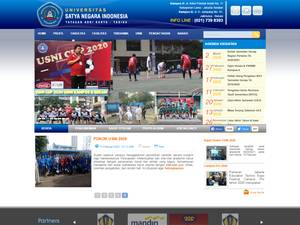 Universitas Satya Negara Indonesia Screenshot