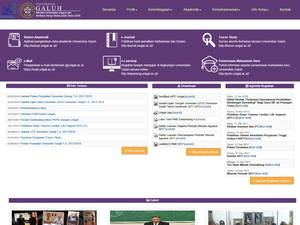 Universitas Galuh Ciamis's Website Screenshot