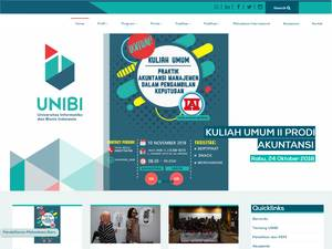 Information Technology and Business University of Indonesia Screenshot