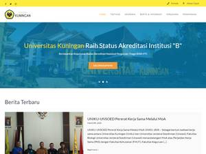 Universitas Kuningan Screenshot