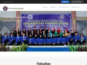 Universitas Gunung Kidul Screenshot