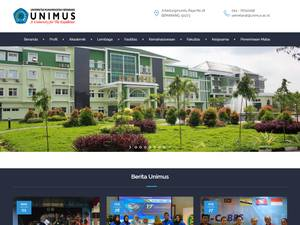 Universitas Muhammadiyah Semarang's Website Screenshot