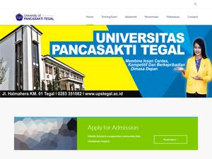 Universitas Pancasakti Screenshot