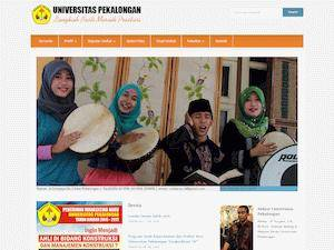 Universitas Pekalongan Screenshot