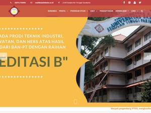 Universitas Sahid Surakarta Screenshot