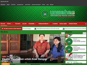 Wahid Hasyim University Screenshot