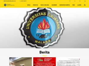 Universitas Gajayana Screenshot