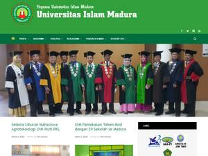 Universitas Islam Madura Pamekasan's Website Screenshot